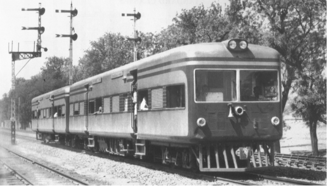 first electric train in india
