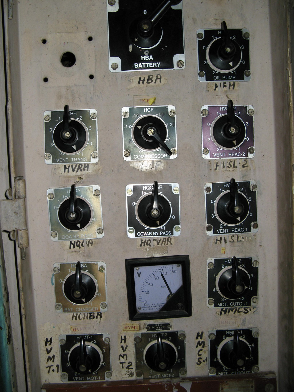 Irfca Ac Locomotive Auxiliary Equipment Wiring Diagram Car Horn Relay Program Switch Panel Provided In Cab 2