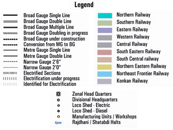 IRFCA] Indian Railways FAQ: Route Map - Suburban Sections (1)