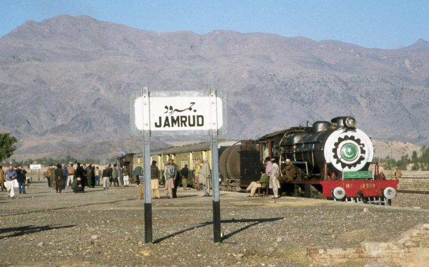 Preparations for departure in Jamrud