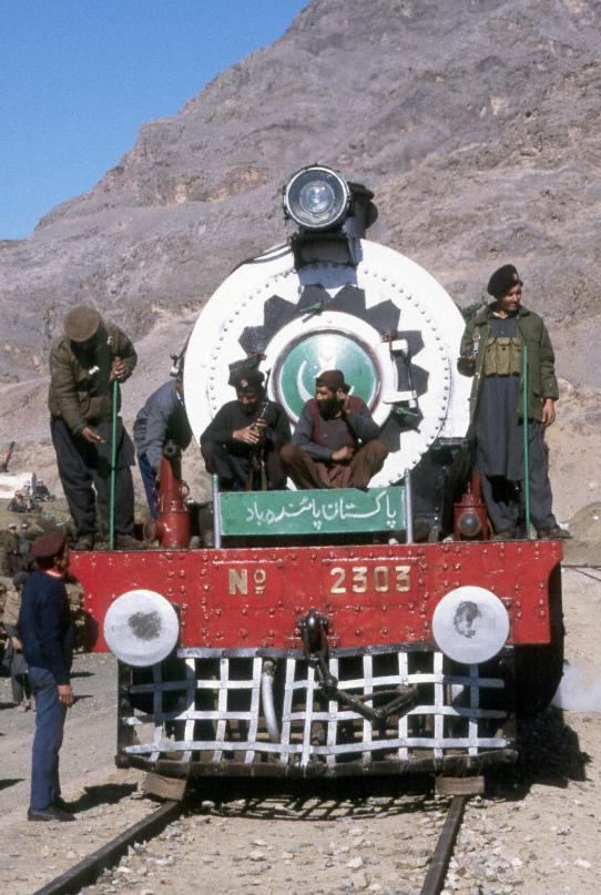 Khyber Rifles at Shaghai station